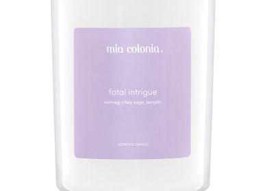 Bougies - bougie fatale intrigue 100% cire végétale - MIA COLONIA