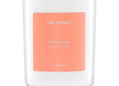 Candles - candle melon shake 100% vegetable wax - MIA COLONIA
