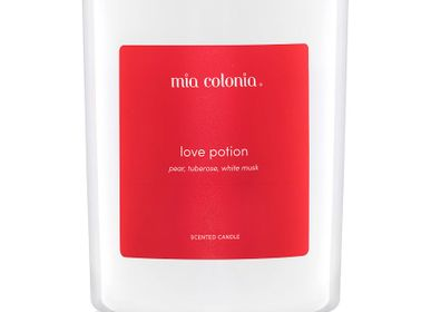 Candles - candle love potion 100% vegetable wax - MIA COLONIA