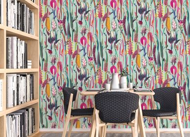 Other wall decoration - Babylonia wallpaper - LA TOUCHE ORIGINALE
