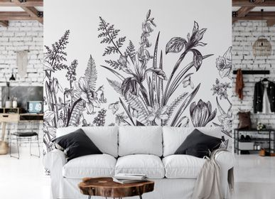 Other wall decoration - Éden - Panoramic & exclusive wallpaper - LA TOUCHE ORIGINALE
