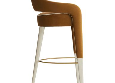Benches for hospitalities & contracts - Invicta I Bar Stool - CASA MAGNA COLLECTION