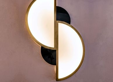 Wall lamps - Wall lamp HALF MOON - ATELIER LANDON