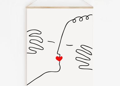 "Other wall decoration - WALL HANGING "" THE KISS"" - SHANDOR"