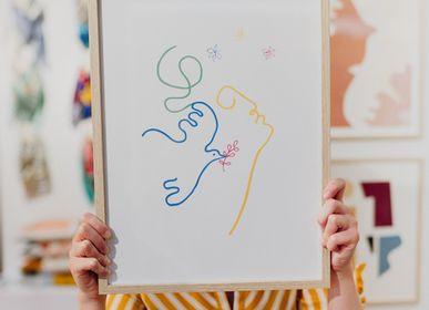 Affiches - Affiches visages, impressions sur papier d'art - SHANDOR