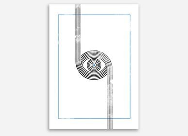 "Poster - AFFICHE ""THE EYE OF BAUHAUS"" - SHANDOR"