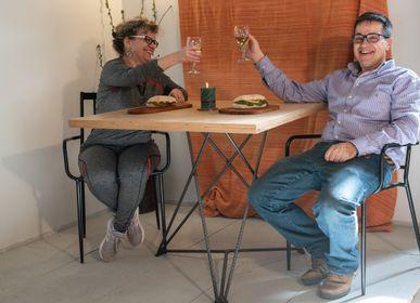 """Kitchen utensils -  Cutting board Short round """"dewdrop"""" - LIVING MEDITERANEO"""