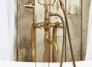 Faucets - Freestanding tub filler with hand-shower, Heritage collection - VOLEVATCH