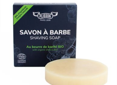Installation accessories - ECOCERT Shaving Soap with Organic Shea Butter - PLISSON
