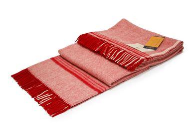 Plaids - Couvertures en pure laine - ERDENET CASHMERE