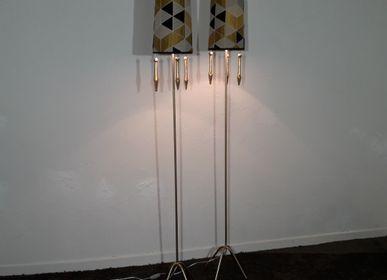 Floor lamps - Golden parquet lamp - MARKO CREATION