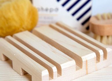 Decorative objects - STRAT Maple Wood Soap Dish - OHËPO