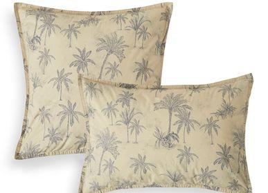 Bed linens - Percale de coton bio lavée - Pillowcase Amour Lointain - DORAN SOU