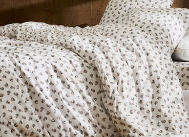Bed linens - Washed organic cotton percale - Naturel Coco bed linen - DORAN SOU