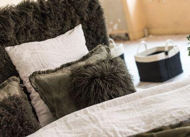 Fabric cushions - COUSSIN AGNEAU DU TIBET - STUDIO SABATIER