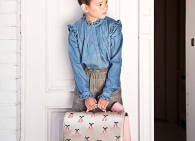 Bags / bookbags - It bag for kids Midi Cherry Pompon - JEUNE PREMIER