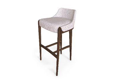 Chairs - Moka Bar Chair - CAFFE LATTE