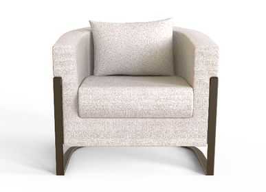 Seats - COLOMBIA Armchair - CAFFE LATTE