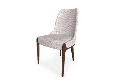 Seats - Moka Dining Chair - CAFFE LATTE