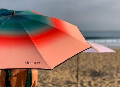 Objets design - Parasol de plage - Psyché rouge pastèque - Klaoos - KLAOOS