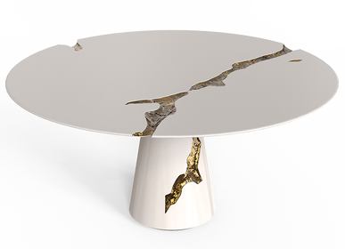 Tables - EMPIRE ROUND Dining Table - BOCA DO LOBO