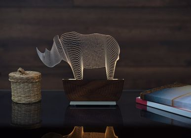 "Desk lamps - ""Save a Rhino"" desk lamp - ZINTEH LIGHTING"