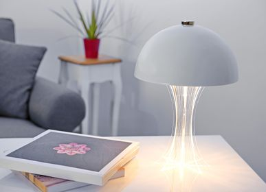 Lampes de bureau  - Mistic Bianco lampe de table - ZINTEH LIGHTING