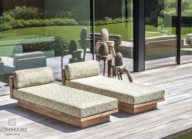 Deck chairs - Sun lounger Magnus - GOMMAIRE (G. CLEYBERGH)