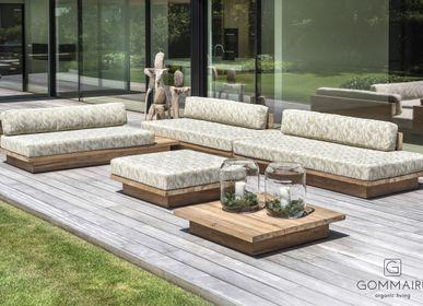 Canapés de jardin - Magnus lounge - GOMMAIRE (G. CLEYBERGH)