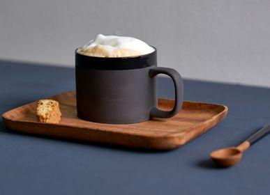 Mugs - Cup Cyl band stoneware - KINTA