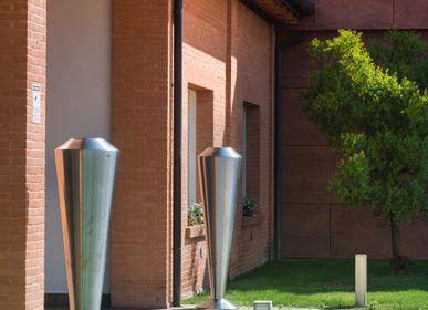 Vases - Vases in Steel - VG - VGNEWTREND