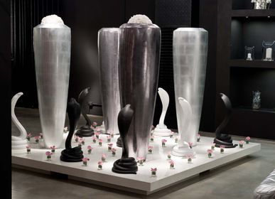 Vases - Vases covered with Leather - VG - VGNEWTREND