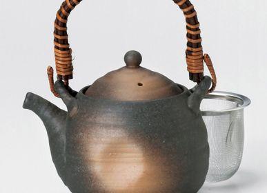 Tea and coffee accessories - Japanese dobin teapot - SHIROTSUKI / AKAZUKI JAPON