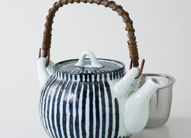 Tea and coffee accessories - Japanese dobin teapot - SHIROTSUKI / AKAZUKI JAPON