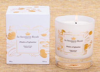 Candles - Pétales d'églantine scented candle- Sublimation - LA SAVONNERIE ROYALE