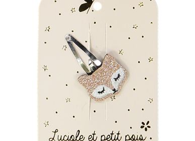 Hair accessories - Fox hairclip - LUCIOLE ET PETIT POIS