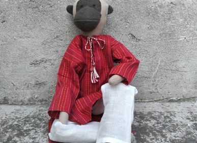 Decorative objects - Neelu the Monkey doll - SILAIWALI