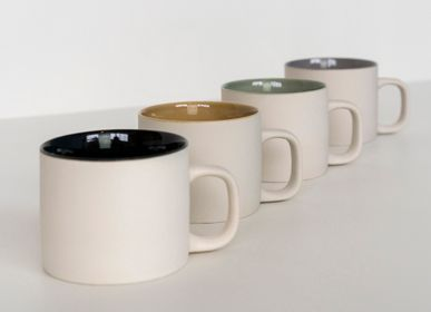 Tasses et mugs - Tasse Cyl grès argileux gris - KINTA