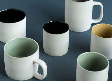 Mugs - Cup Cyl grey clay stoneware - KINTA