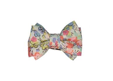 Kids accessories - Double Bow Mini Hairclip - LUCIOLE ET PETIT POIS