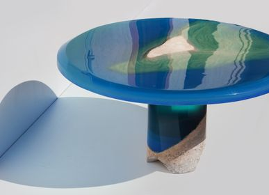 Coffee tables - Azzuro Table - EDUARD LOCOTA SCULPTURE STUDIO