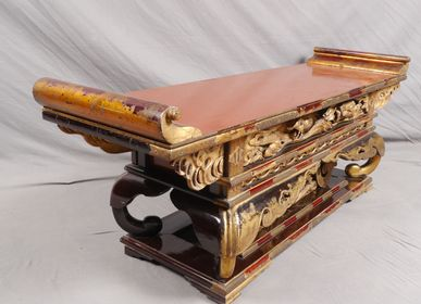 Console table - TEMPLE WRITING - THIERRY GERBER