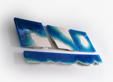 Wall decoration - Ocean Blocks | Wall Decoration - EDUARD LOCOTA SCULPTURE STUDIO