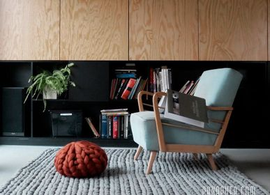 Rugs - Scandi wool rug - PANAPUFA