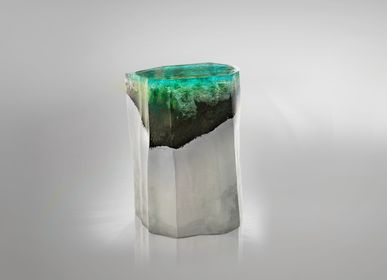Sculpture - Cliff |Side Table - LO CONTEMPORARY