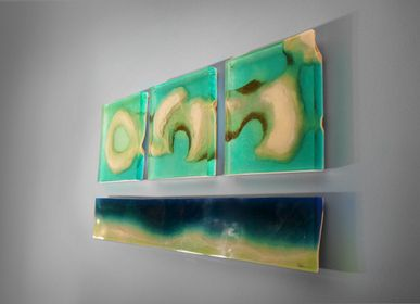 Wall decoration - Oceanus Blocks | Wall Decoration - LO CONTEMPORARY