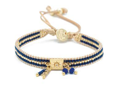 Bijoux - GOLDEN DEEP BLUE - BELLE MAIS PAS QUE