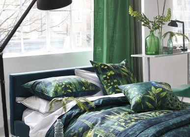 Bed linens - Arjuna Leaf Viridian - Duvet Set - DESIGNERS GUILD