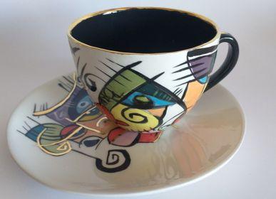 Céramique - ENIGMA tasses/saucers/AVA - ENIGMA
