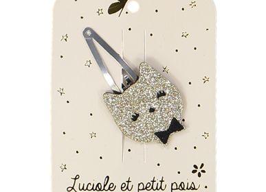 Kids accessories - Cat Hairclips  - LUCIOLE ET PETIT POIS